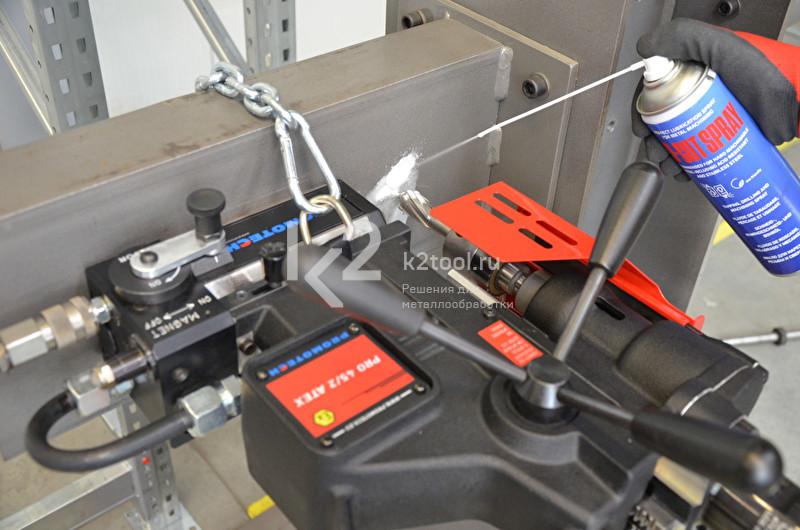 Пневматический магнитный сверлильный станок PRO-45 A