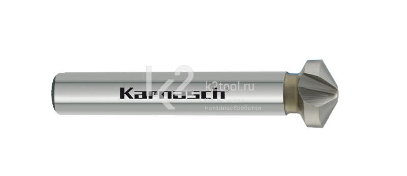 Конусообразная зенковка из быстрорежущей стали XE, Karnasch артикул 40.4040
