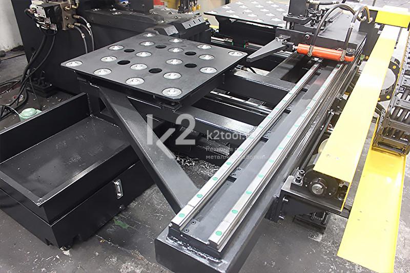 Гидравлический станок с ЧПУ для пробивки и маркировки листового проката TPP103/TPPR103