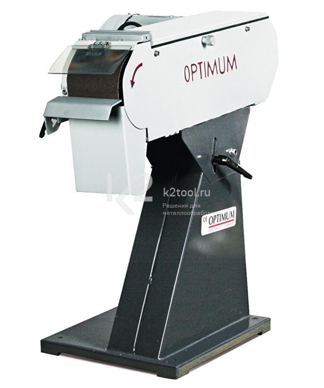 Ленточный шлифовальный станок Optimum BSM150