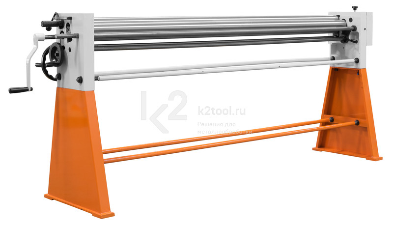 Ручной вальцовочный станок Stalex W01-0.8x2050