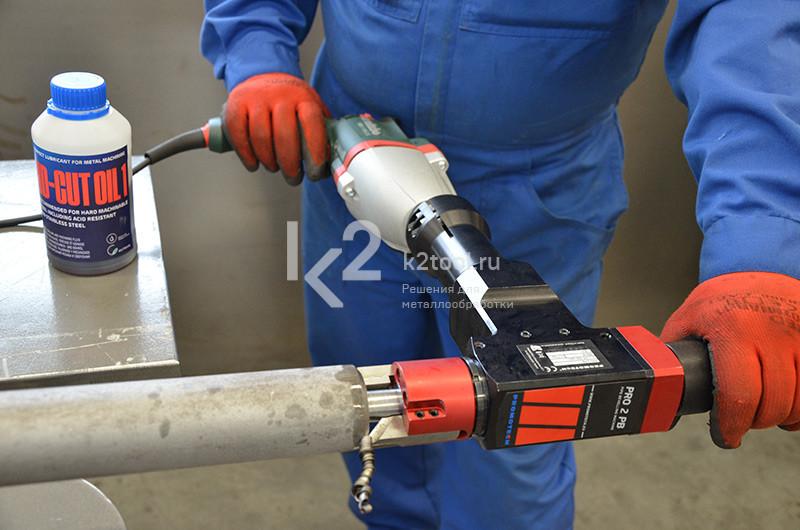 Машина для снятия фаски с труб ПРО 2 ПБ