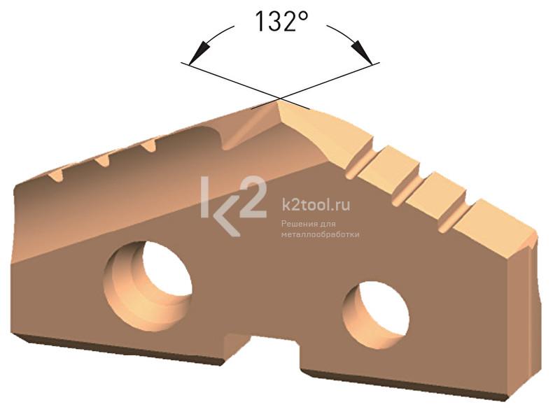Сменная пластина из порошковой стали, покрытие Steel-Tec, Karnasch, арт. 22.2010