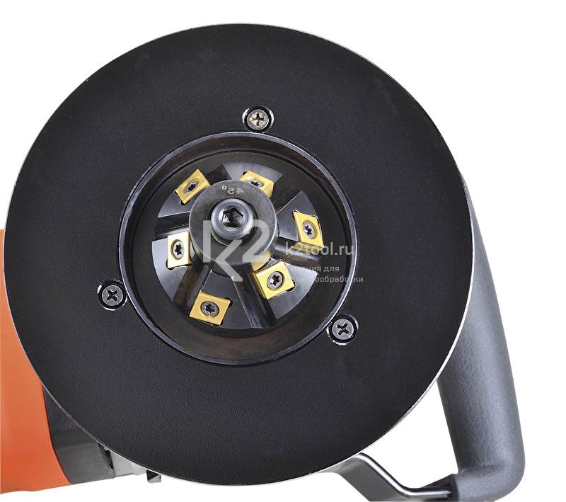 Фрезерная головка на 6 сменных твердосплавных пластин (для новых моделей)