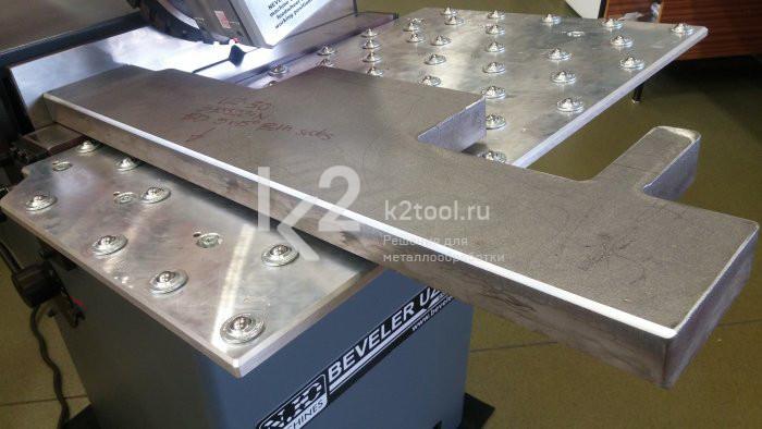 UZ-30 - фасонная плита
