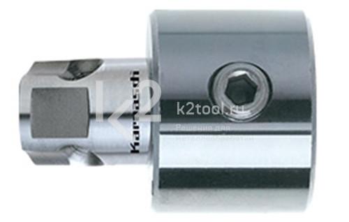 Адаптер с хвостовиком Weldon + Nitto / Universal 19 мм для корончатых сверл, Karnasch арт. 20.1234