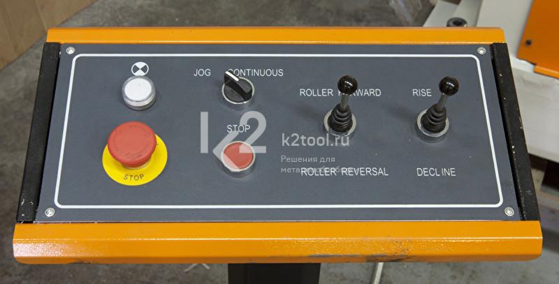 Электромеханический вальцовочный станок Stalex W11-10x2500. Джойстик