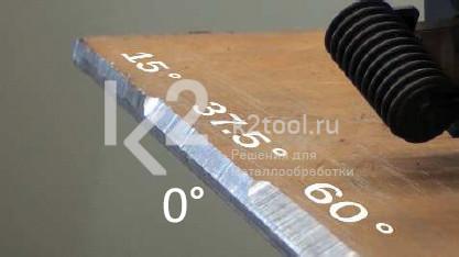 Углы фаски ручного кромкореза BM-20+