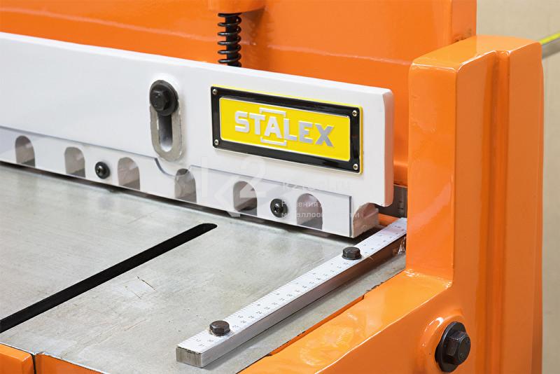Ножная гильотина STALEX Q01-1x1000