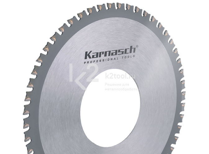 Пильный диск с твердосплавными зубьями Karnasch 5.3952.140