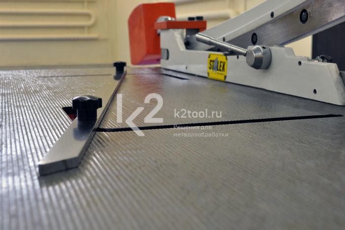Ручная гильотина сабельного типа STALEX KHS-1250