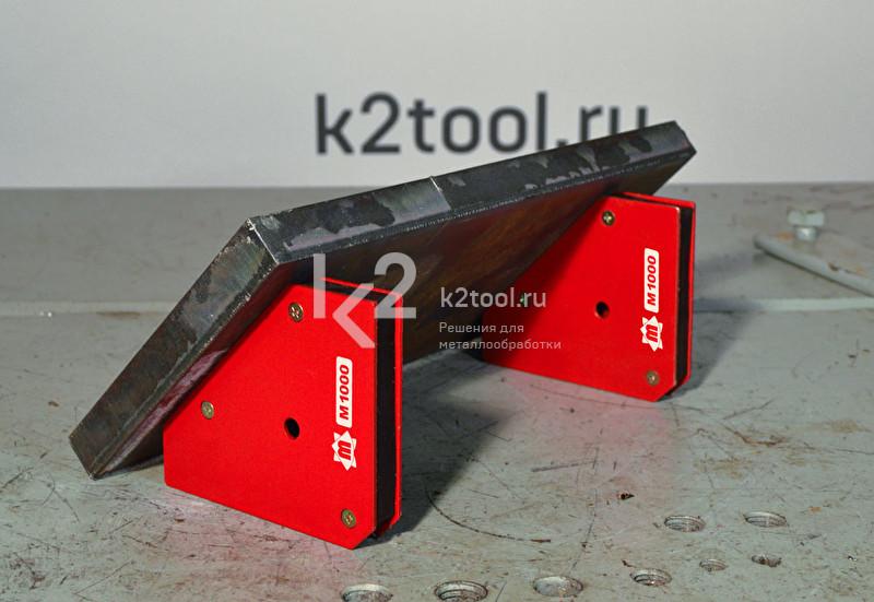 Угольник магнитный M1000