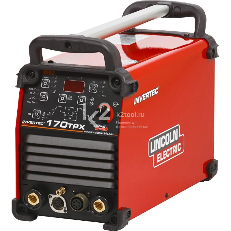 Сварочный инвертор Lincoln Electric Invertec 170TPX