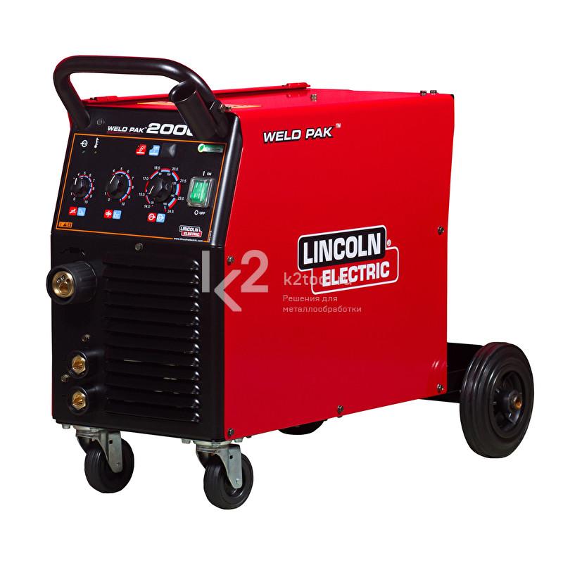 Сварочный инвертор Lincoln Electric Weld Pak 2000