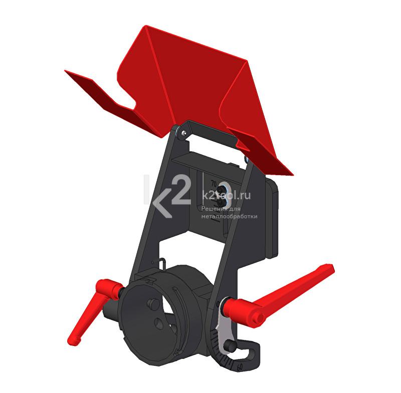 Блок фрезерный для фаски с углами от 0° до -60°