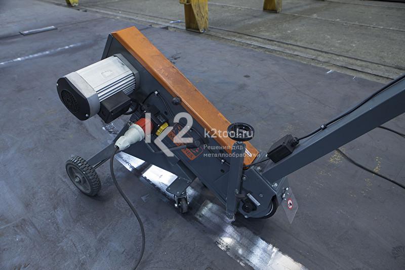 Мобильный ленточный шлифовальный станок NKO Pasovec Runner 75
