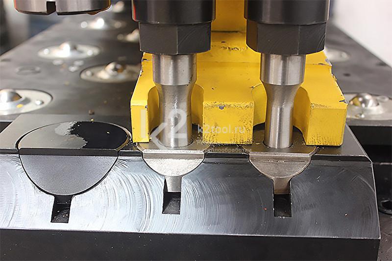 Гидравлический станок с ЧПУ для пробивки, сверления и маркировки листового проката TPPD103/TPPRD103