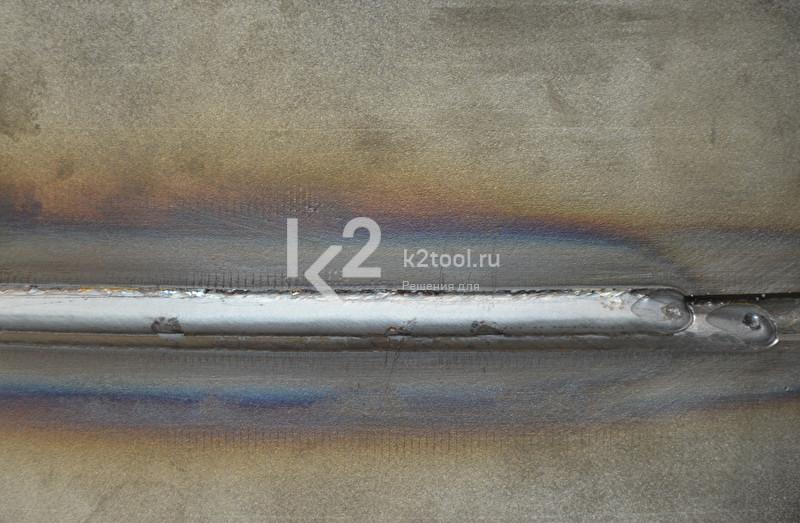 Rail Bull 2, процесс сварки