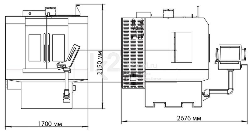 Пятикоординатный заточный станок с ЧПУ Q5
