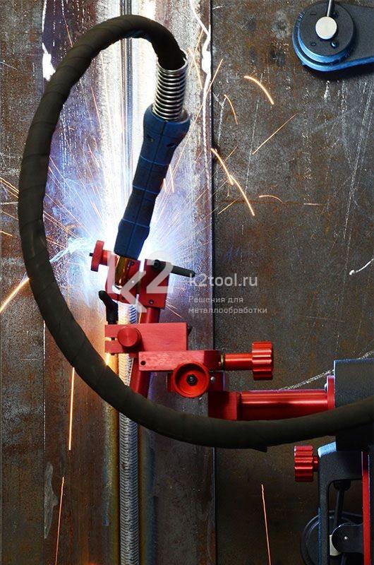 Rail Bull, процесс сварки
