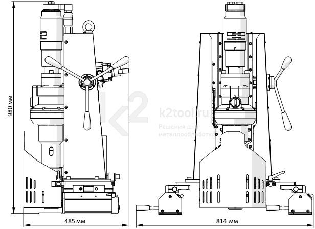 PRO-200 А - габариты