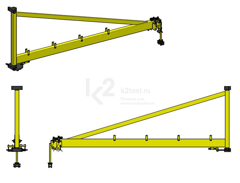 Телескопические сварочные консоли Promotech