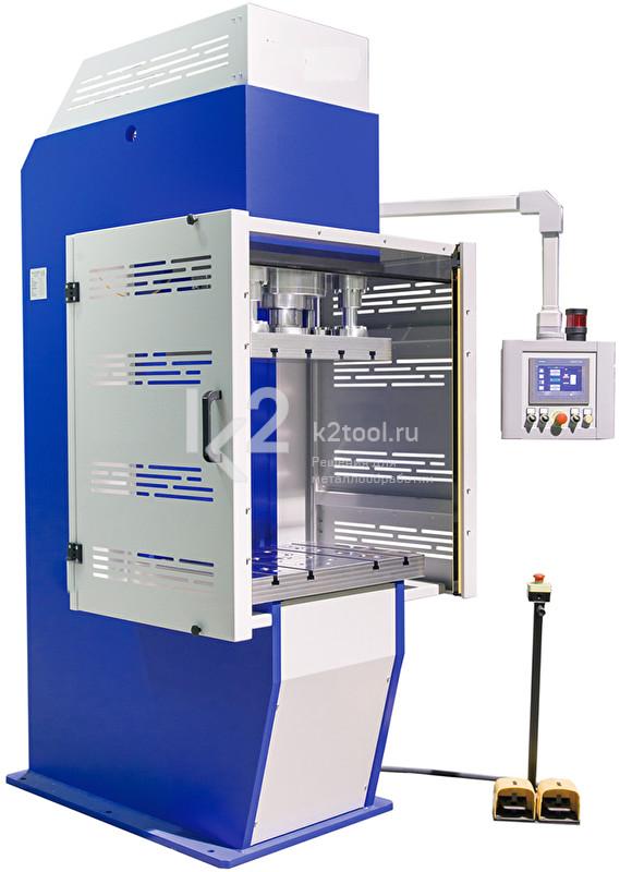 Гидравлический пресс с С-образной жесткой станиной RHTC PPCF-100 (CF-100)