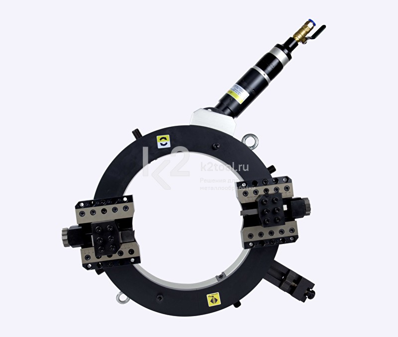 Разъёмный труборез и фаскосниматель TVS-762с пневматическим приводом