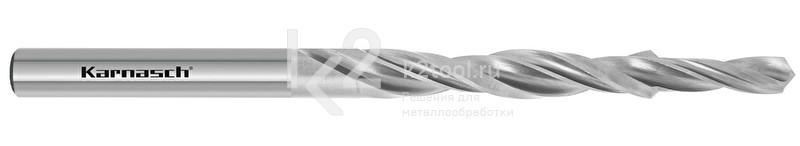 Ступенчатые спиральные сверла, 90° (под винты с потайной головкой), HSS-XE, Karnasch, арт. 40.1030