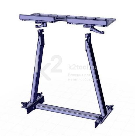 Съемный стол для снятия фаски с мелких заготовок UZP-30. Снят с ножек