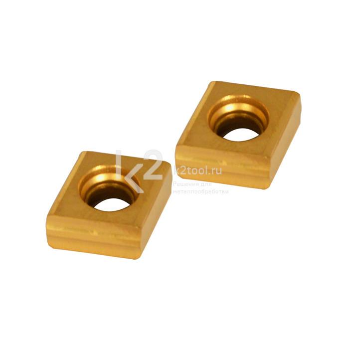 Комплект твердосплавных пластин для фрезерных головок 30° и 45° к ручному кромкорезу EB12.  Артикул 305-00051-000-006.