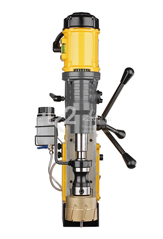 Магнитный сверлильный станок ONIX DM-130 - вид спереди