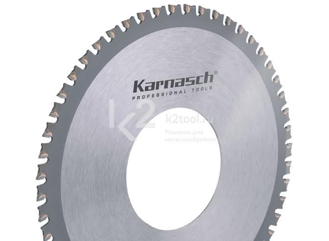 Пильный диск с металлокерамическими зубьями Karnasch 5.3961.140