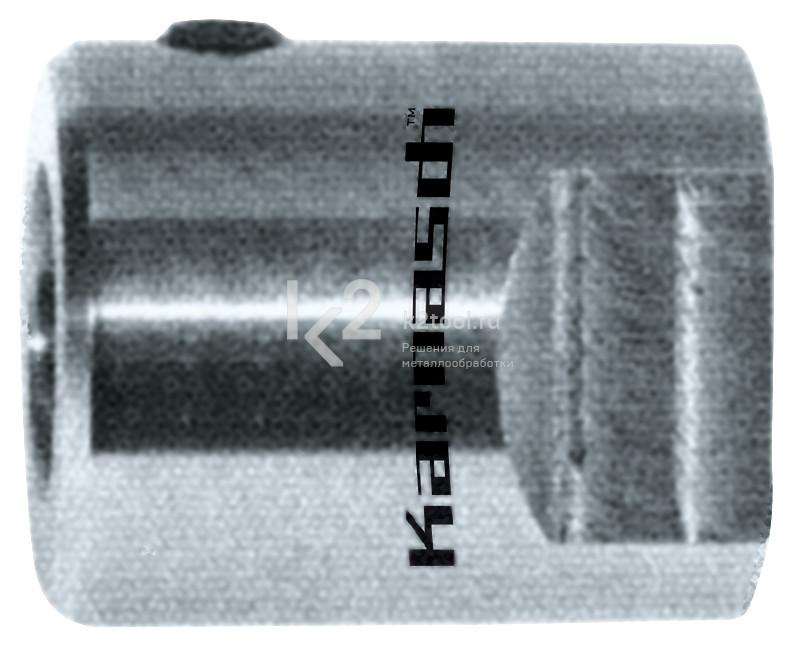 Переходник Karnasch с Fein Gewinde / Thread M18 × 6 P 15 на Weldon + Nitto / Universal 19 мм, арт. 20.1381