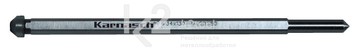 Выталкивающий штифт 6,34x130 мм, Karnasch, арт. 20.1160