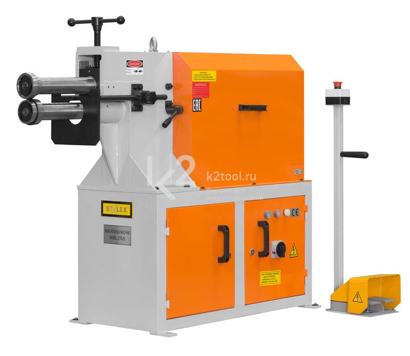 Электромеханический зиговочный станок Stalex ETB-40
