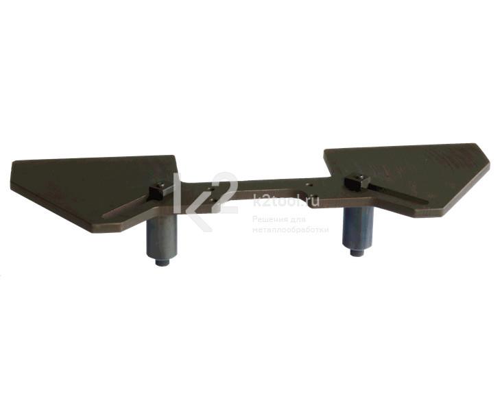 Приспособление для работы на трубах диаметром 260-600 мм