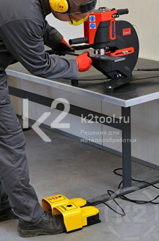Пример применения пресс-перфоратора гидравлического Promotech Pro 110 HP