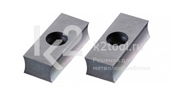 Комплект твердосплавных пластин для старых фрезерных головок 30° и 45° к ручному кромкорезу EB12.  Артикул 305-00051-000-001.