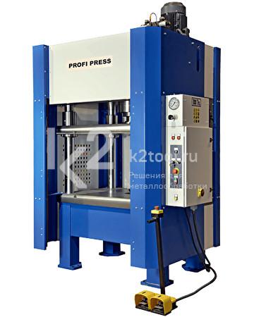 Четырехколонный гидравлический пресс RHTC MV-100