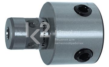 Переходник Karnasch с Fein Quick-In 18 мм на Weldon + Nitto / Universal 19 мм, арт. 20.1263