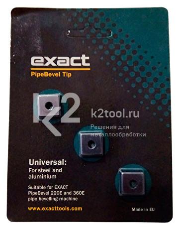 Твердосплавные пластины для Exact PipeBevel 220E/360E