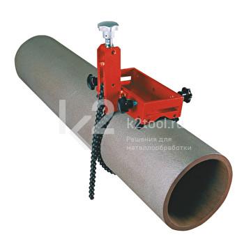 Приспособление для крепления на трубах Promotech DMP 0250 (ПКТ-250) зафиксированный на трубе