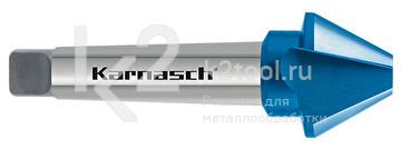 Коническая зенковка из быстрорежущей стали XE с покрытием BLUE-TEC, Karnasch арт. 40.3035