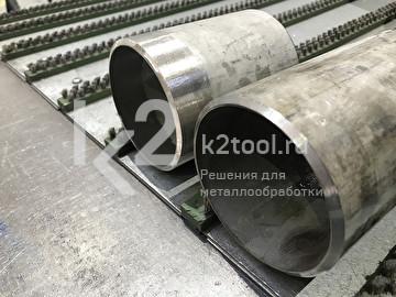 Обработка кромки, выполненная машиной для снятия фаски с труб ПРО 5 ПБ