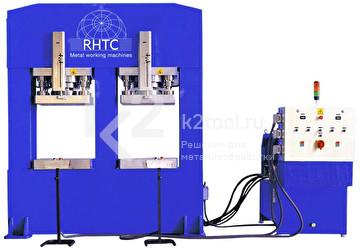 Гидравлический пресс с неподвижным столом RHTC FDV-300