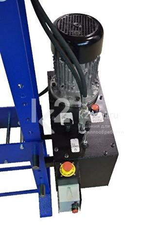 Гидравлический пресс RHTC 15 TON - приборная панель