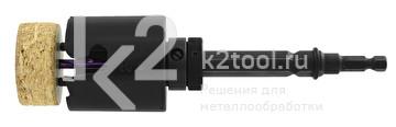 Хвостовик шестигранный 9,5 мм с выталкивателем для коронок Karnasch, арт. 20.1166