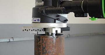 Машина для снятия фаски с труб ПРО 10 ПБ